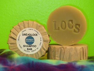 Spearmint Eucalyptus Dreadlocks Shampoo Bar