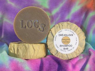 Sandalwood & Tonka Bean Dreadlock Shampoo Bar